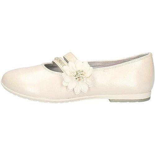 Scarpe Baby Ballerina Pelle Bianco 63257 White ASSO p0dz3J