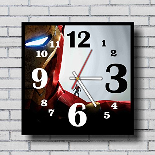 Irredeemable Ant-man Costume (FBA Ant man and Iron man 11.4'' Handmade Wall Clock - Get unique décor for home or office – Best gift ideas for kids, friends, parents and your soul mates)