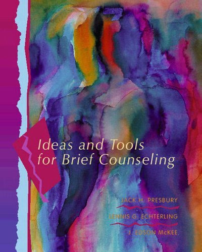 Ideas and Tools for Brief Counseling by Jack H. Presbury (2001-06-19)