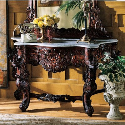 queen anne console table - 6