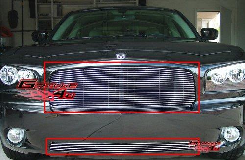 2007 Dodge Charger Billet (05-10 Dodge Charger Billet Grille Grill Combo insert # D87889A)