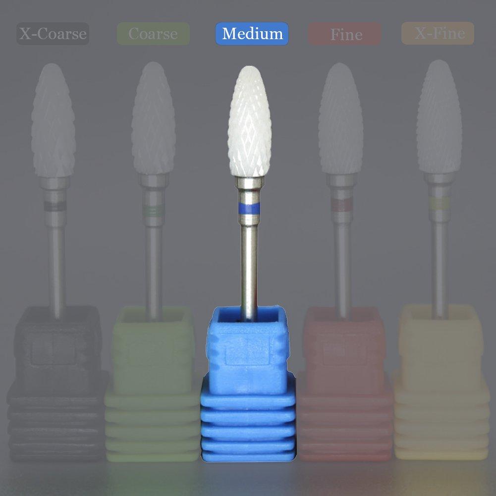 Amazon.com : SpeTool Carbide Drill Bits Rotary Burrs Cuticle Clean ...