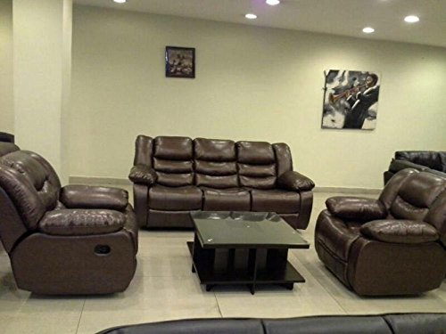 ZoHa Body Touch Genuine Leather Manual Recliner