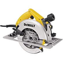 Factory-Reconditioned DEWALT DW364R 7-1/4 Heavy Duty Circular Saw with Electric Brake and Rear Pivot Depth of Cut Adjustment