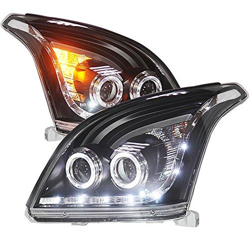 Generic LED Head Lamp 2003 to 2009 Year for Toyota Prado FJ120 LC120 Black Housing with Bi Xenon Projector Lens (Toyota Prado Lamp compare prices)