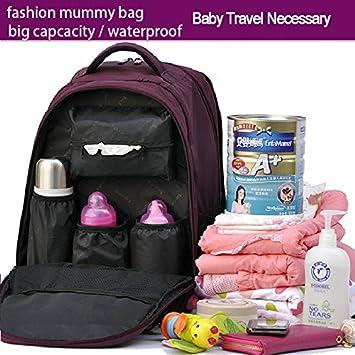 Amazon.com : Mummy bag shoulders multifunctional backpack ...