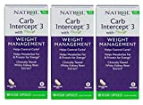 Natrol Carb Intercept 3 Capsules, 60-Count (Pack of 3) For Sale