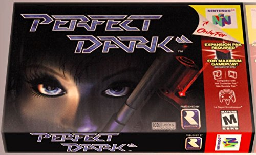 PERFECT DARK Game (2000, RARE) Nintendo 64 N64 Brand New Original Factory Sealed