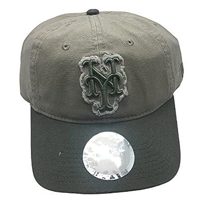 "MLB New York Mets ""Da Vinci"" Shabby logo Classic Self Strap Adjustable Cap Hat by NEW ERA"