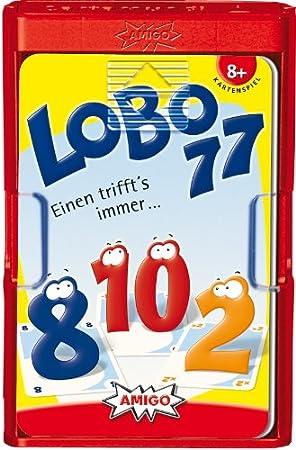 Amigo 01130 Lobo77 - Juego de cartas (edición de viaje) (versión en alemán)