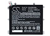 Cameron Sino Li-Polymer 3.70V 5650mAh/20.91Wh Battery Compatible With HP BY02 HSTNH-C13C-S, Fits HP Slate 8 Pro Slate 8 Plus HSTNH-H408C 7600US