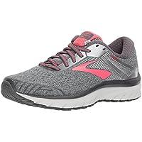 Brooks Adrenaline GTS 18 Womens Running Shoes (Ebony/Silver/Pink)