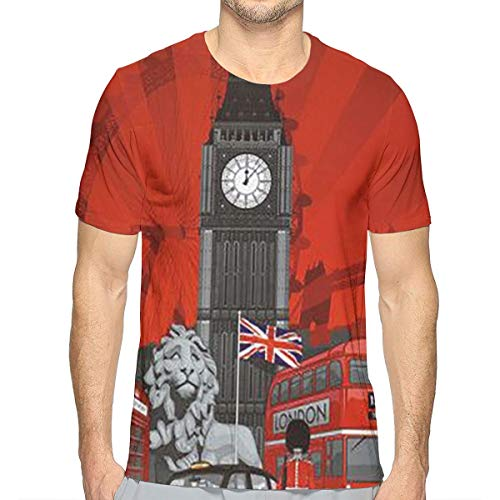 TNIJWMG City of London Men's Short Sleeve T-Shirt White