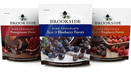 Wal-Mart Stores Brookside Variety Pack, 3-Count, 7-Ounce ...