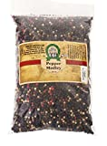 International Spice Peppercorn (Whole)- 16 Oz. Bag (Gourmet Blend- Mixed Peppercorns)