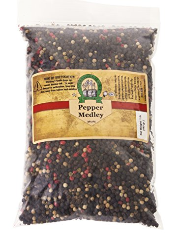 International Spice- Mixed Peppercorns (Whole)-: 16 Oz. Bag