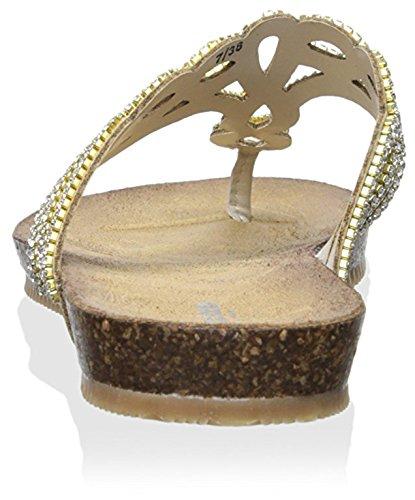 Thong Nude London Lapper Sandal Synthetic Dune Women's AwtqgxnC