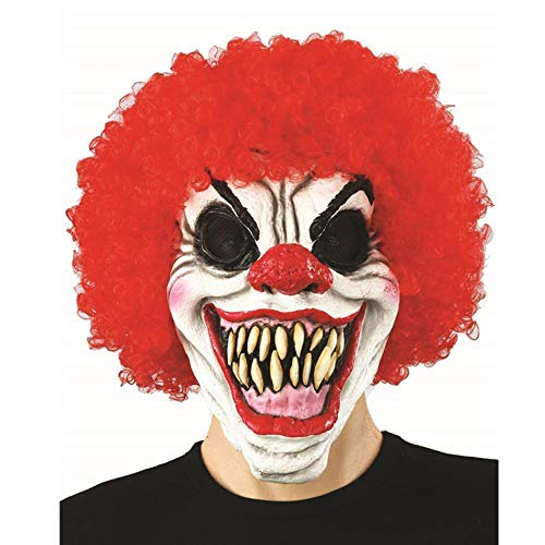 - LXIANGP Latex Hoods Funny Clown Masks Dance Party Tidy Props Halloween mask Horror