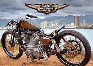 Harley davidson - 22 - Moto - classic Moto - chopper moto ...