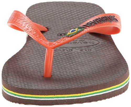 Sandali Infradito Donna Havaianas Marrone Scuro Marrone Scuro / Arancione