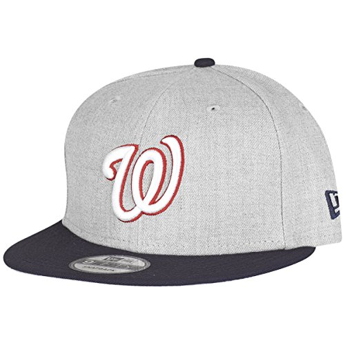 New Era 9Fifty Snapback Cap - HEATHER Washington Nationals
