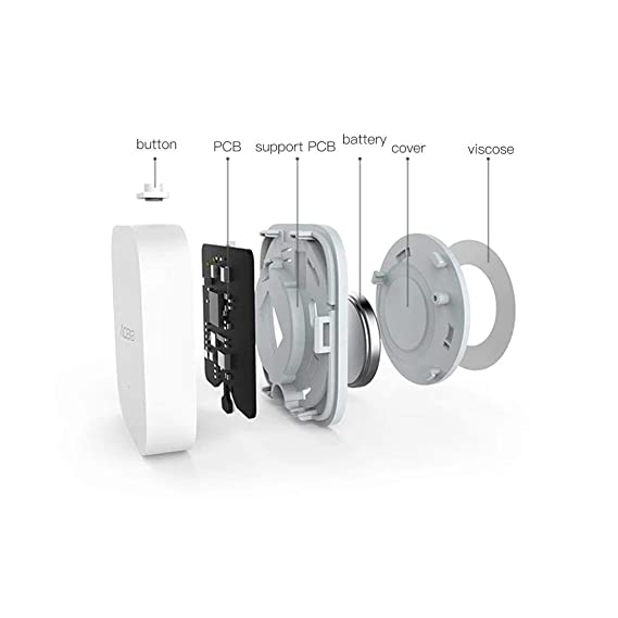 Aqara Sensor de Humedad de Temperatura Inteligente Wifi Detector Inteligente de Alarma en Tiempo Real Inalámbrico A Través de APP Control Smart Home: ...