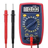 Yougai Digital Multimeter with Ohm Volt Amp and Diode and Continuity Test Tester, Backlight LCD Display