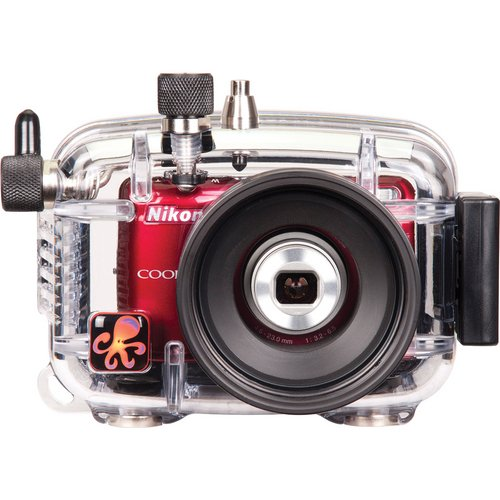 Ikelite-628026-Underwater-TTL-Camera-Housing-for-the-Nikon-Coolpix-L26-and-L28-Digital-Cameras