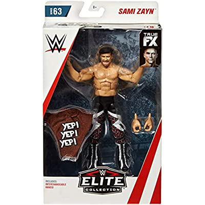 WWE Sami Zayn Elite Collection Action Figure: Toys & Games