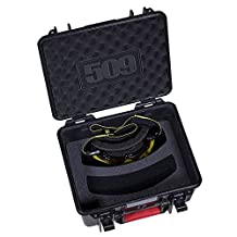 509 Bomber Dual Goggle Case for 2 Pairs of Sinister Aviator Snowmobile Goggles by 509