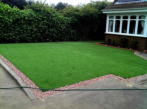New 15' Foot Roll Artificial Grass Pet Turf Synthetic SALE! Many Sizes! (88 oz 15' x 40' = 600 Sq feet) by Artificial Grass Wholesalers (Image #4)