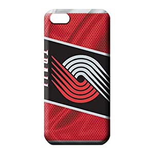 iphone 5 5s Durable phone carrying case cover New Snap-on case cover Strong Protect portland trailblazers nba basketball