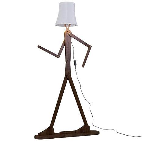 Robot Lámpara de Pie Creativa DIY de Dibujos Animados En ...