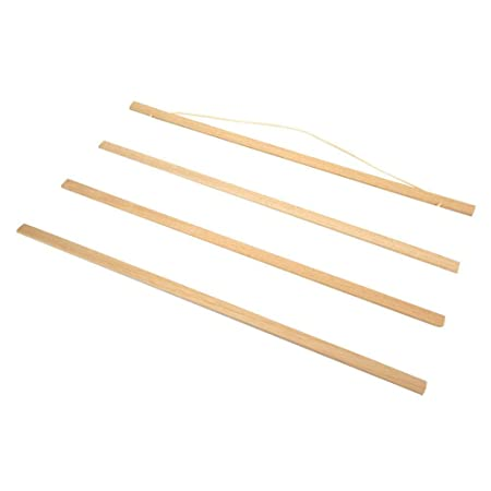 Suspensión del cartel, soporte de cartel de madera magnético ...