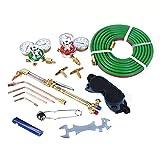 Goplus Gas Welding Cutting Torch Kit, Portable