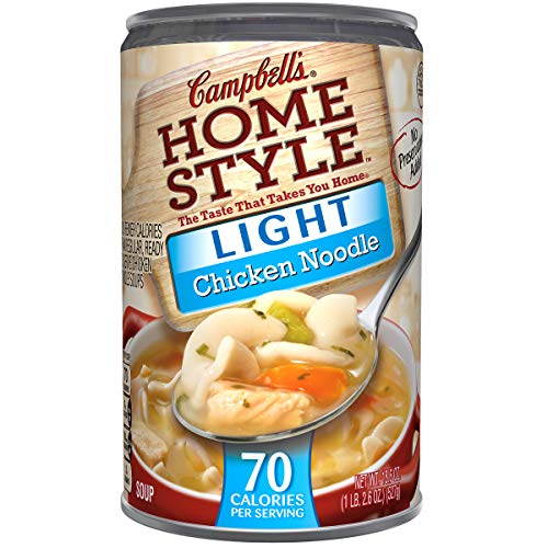(Campbell's Homestyle Light Chicken Noodle Soup, 18.6 oz.)