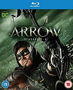 Arrow - Season 1-4 [Blu-ray] [Region Free] [UK Import]