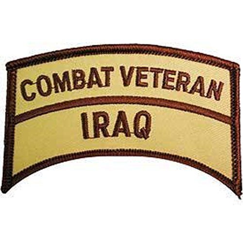 EagleEmblems PM0745 Patch-Iraqi Freed.Combat Vet.Tab (3'')