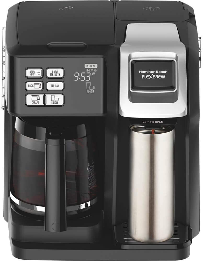 Hamilton Beach Coffee Maker with Pod Brewer