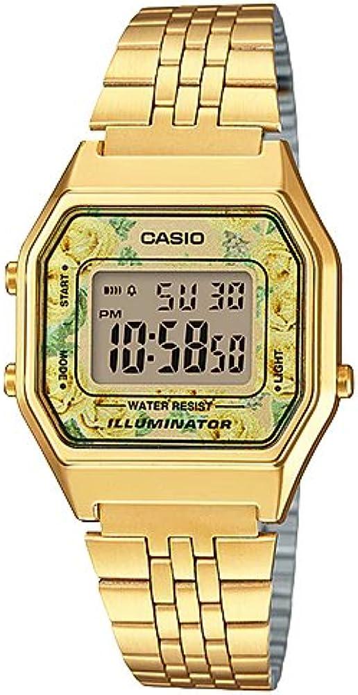 Reloj Casio - Retro LA680WGA-9CDF Dorado
