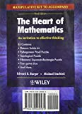 The Heart of Mathematics : An Invitation to Effective Thinking, Burger, Edward B. and Starbird, Michael, 0470499532
