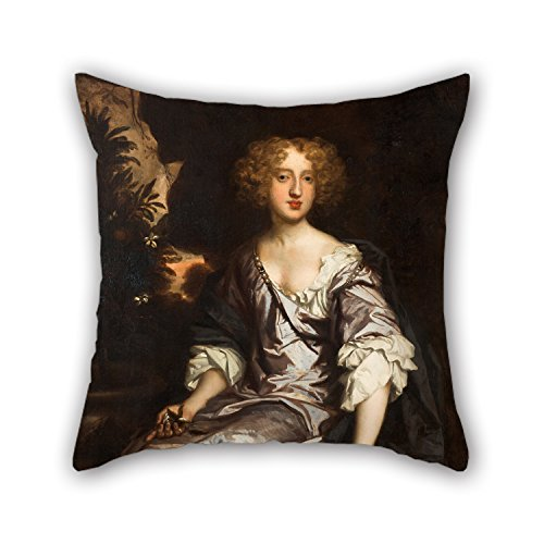 Artistdecor Throw Cushion Covers Of Oil Painting Sir Peter Lely - Portrait Of Lady Elizabeth Strickland, Née Pile 20 X 20 Inches / 50 By 50 Cm,best Fit For Dance Room,festival,girls,outdoor,family - S/e Neo Vest