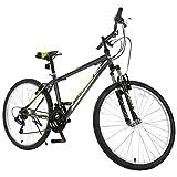"GTM 26"" Mountain Bike 18 Speed Bicycle Shimano Hybrid College School Sports Green"