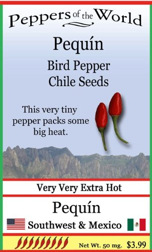 Sandia Seed Company Pequin   Bird Pepper 10 Chile Seeds  Native Plant In Sw And Mexico