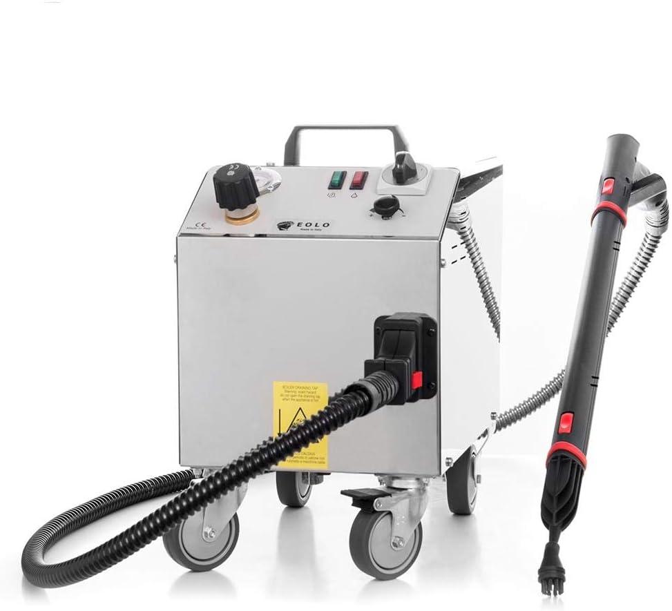 EOLO Vapor One LP01 RA Limpiador de Vapor Profesional con Recarga automática Mata Virus, Bacterias y Gérmenes a 165° Limpieza Profesional en Cualquier Ambiente.