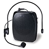Image of AVALID Voice Amplifier for Classroom Teachers, Portable Waistband Headset Microphone, Voice Amplification for Tour Guides, Speakers, Lecturer, Coaches and Salesman