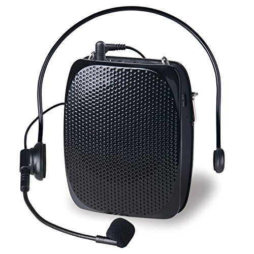 AVALID Voice Amplifier for Classroom Teachers, Portable Waistband Headset Microphone, Voice Amplification for Tour Guides, Speakers, Lecturer, Coaches and (Horseback Riding Costume Class)