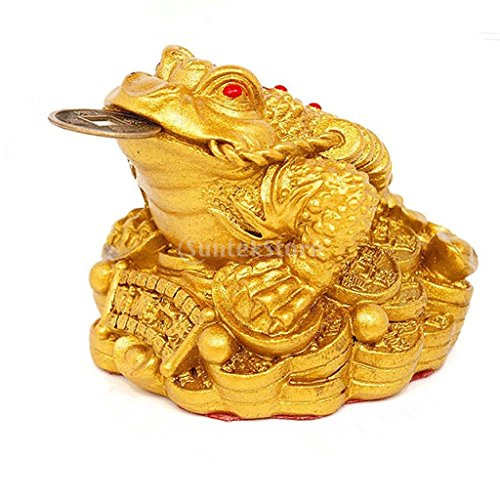 oney Lucky Fortune Oriental Chinese Wealth Frog Frog Toad Coin Decor (Feng Shui Toad)