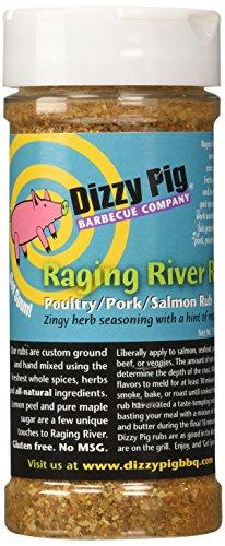 Dizzy Pig BBQ Raging River Rub Spice  79 Oz