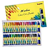 36 Colors Art Oil Pastels Set with Pastel Holders and Sharpeners for All Artistic Level by iMustech